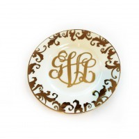 Monogram Jewel Plate