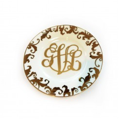 Monogram Jewel Plate