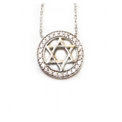 Fine Silver - Star Of David
