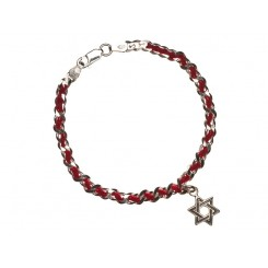 Fine & Fancy String Bracelet - Star Of David