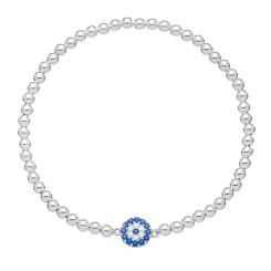 Fine & Fancy Stretch Bracelet - Evil Eye