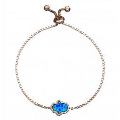 Fine & Fancy Bracelet - Opal Hamsa