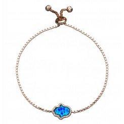 Fine Silver - Opal Hamsa