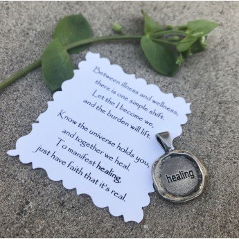 Intention Charm Wax Seal-healing