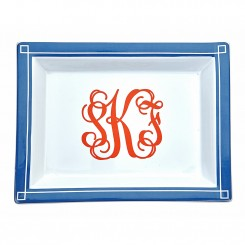 Monogram Jewelry Tray - Large