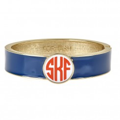 Monogram Hinged Bracelet