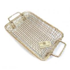 Artisan Gilded Basket