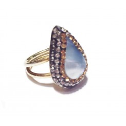 Native Gem Ring - Mother Of Pearl
