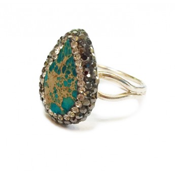 Native Gem Ring - Persian Turquoise