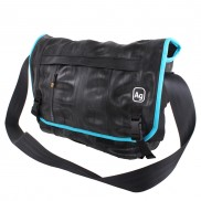 TRUCK TIRE MESSENGER BAG