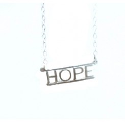 Fine Silver Charms & Letters - Hope