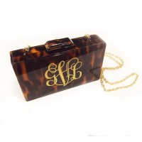 Monogram Tortoise Clutch