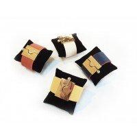 Reversible Vegan Leather Bracelet
