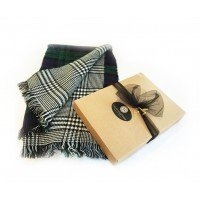Reversible Oversize Blanket Scarf