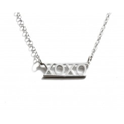 Fine Silver Charms & Letters - Xoxo